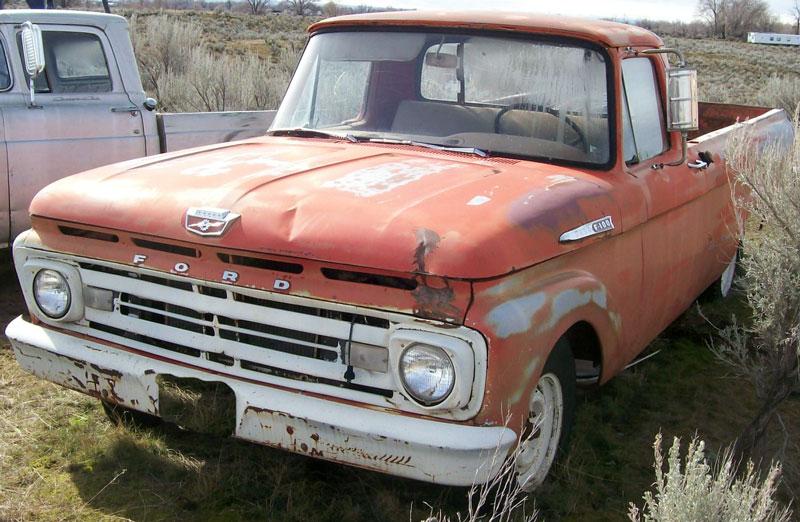 1962 Ford F-100 1/2 ton pickup truck #1 for sale $3500 & Restored Original and Restorable Ford Trucks For Sale 1956-1996 markmcfarlin.com