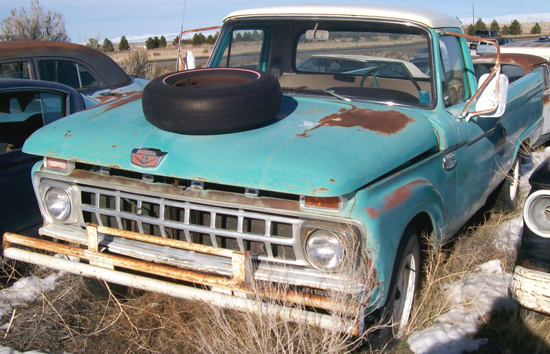 65 Ford F250 4x4 For Sale | Autos Post