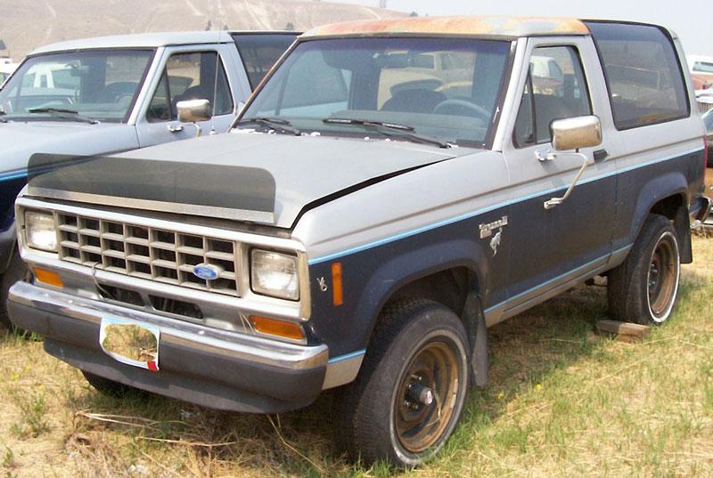 1985 Ford Bronco 4x4