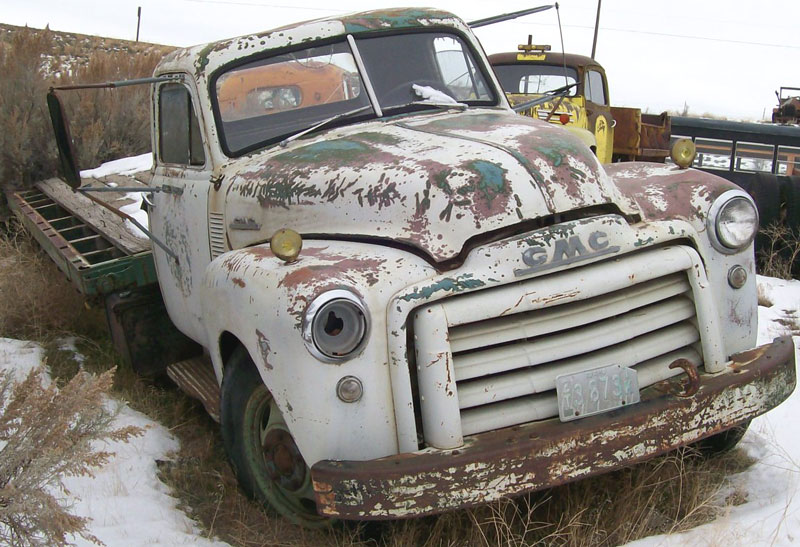 1950 GMC 2 Ton Flatbed Truck
