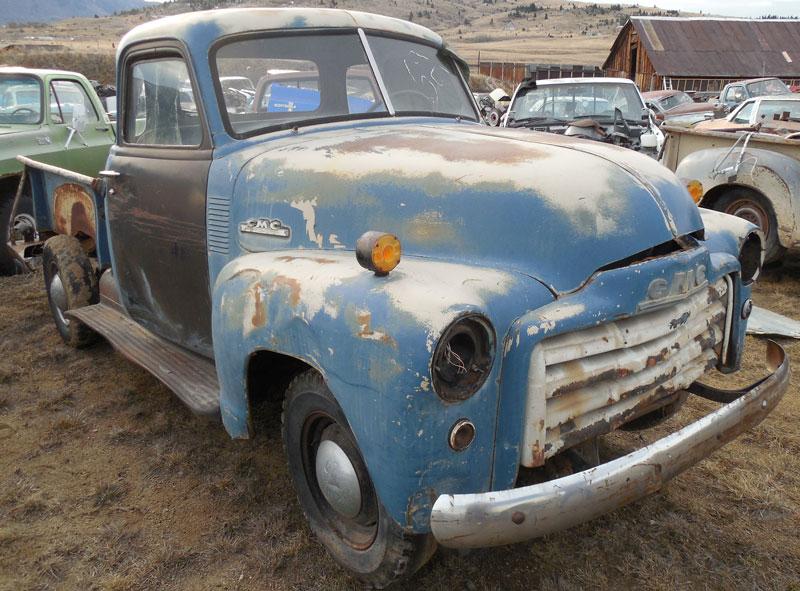 Restored restorable gmc classic vintage trucks for sale for 1951 gmc 5 window pickup