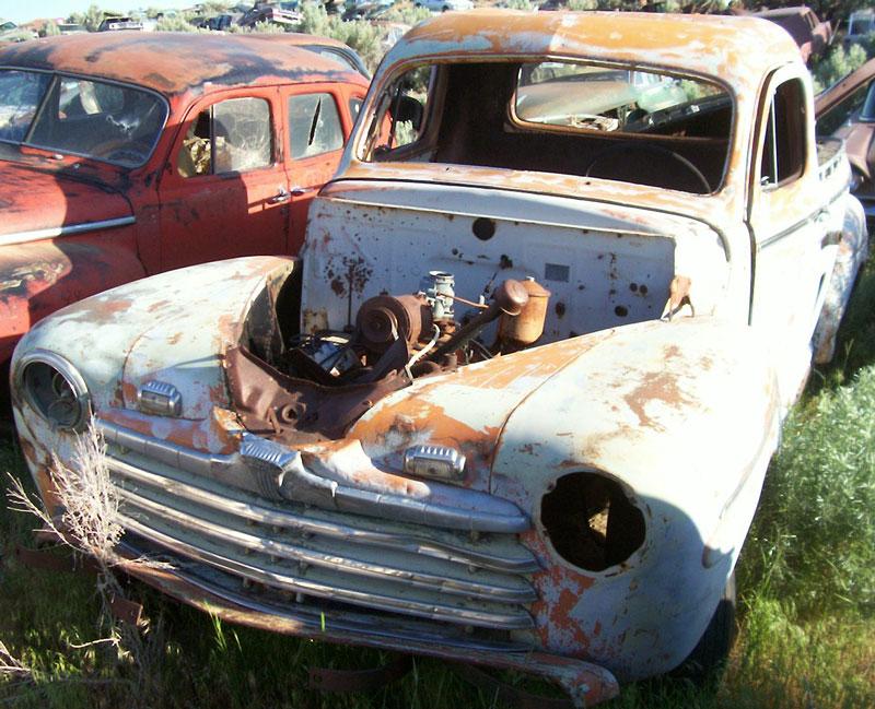 DesertClassics ...Restorable & All Original Ford Hot Rods ...