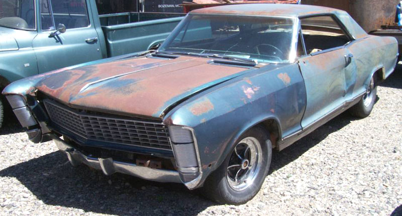 1965 buick rivierra 2 door hardtop for sale 3 500 left front view. Cars Review. Best American Auto & Cars Review