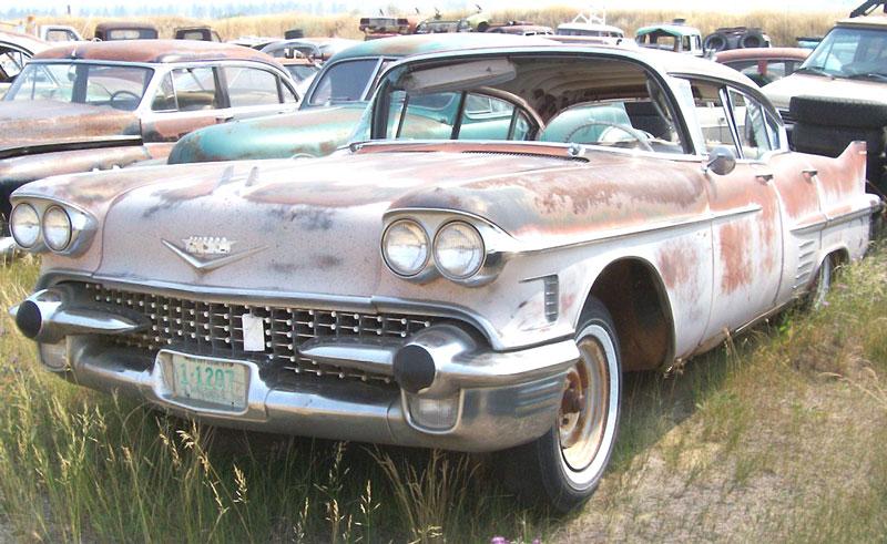 1958 Cadillac Series 62 4 Door Hardtop For Sale