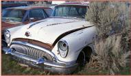 1954 Buick Super Riviera Series 50 Two Door Hardtop For Sale left front view for sale $6,500