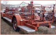 1925 American-LaFrance fire engine ladder truck left rear view for sale $9,000