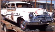 1953 Buick Roadmaster 4 door woody station wagon right front view for sale $30,000