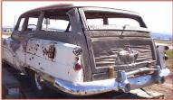 1953 Buick Roadmaster 4 door woody station wagon left rear view for sale $30,000