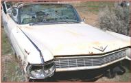 1964 Cadillac Series 62 convertible right front view