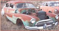 1947 Buick Super Series 50 4 door sedan right front view for sale $3,000