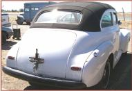 1941 Chevrolet Master 2 door sedan custom hot rod with 350 V-8 and Turbo right rear view