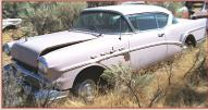 1957 Buick Super Riviera 2 door hardtop left front view for sale $5,500