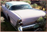 1957 Buick Super Riviera 2 door hardtop left rear view for sale $5,500