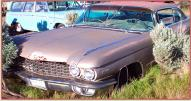 1960 Cadillac Series 62 2 door hardtop coupe for sale $4,000 left front view