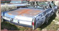 1966 Cadillac DeVille convertible right rear view