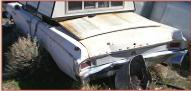 1963 Buick Special Skylark convertible left rear view for sale $4,500
