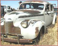 1940 Chevrolet Series KA Special Deluxe 4 door sedan for sale $4,500 left front view