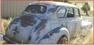 1940 Chevrolet Series KA Special DeLuxe 4 door sedan for sale $4,500 right rear view