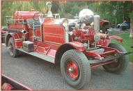 1927 Ahrens-Fox N-S-4 Fire Pumper Engine left front view for sale $67,000