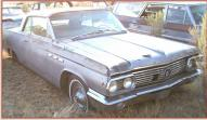 1963 Buick LeSabre 2 door hardtop right front view for sale $4,500