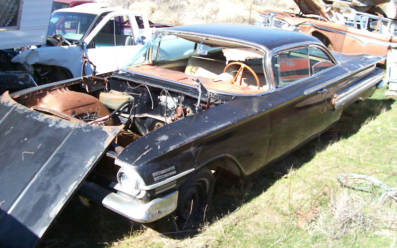 1960 Chevrolet Impala Sport Coupe Tri Power 348 4 Speed For Sale