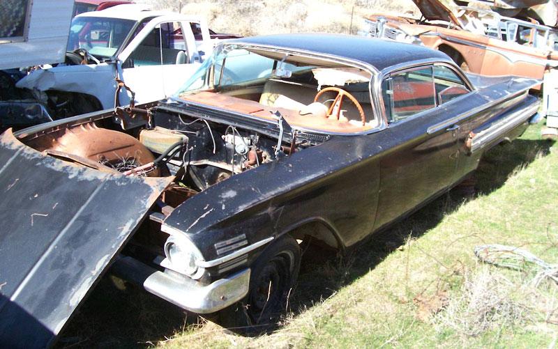 1960 Chevrolet Impala 4-Door Hardtop 348 CI, 3-Speed | Chevrolet ...