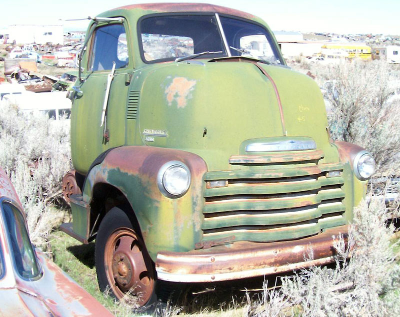 1949 Chevrolet Series 5700 COE Cab-Over-Engine Flatbed Truck For Sale