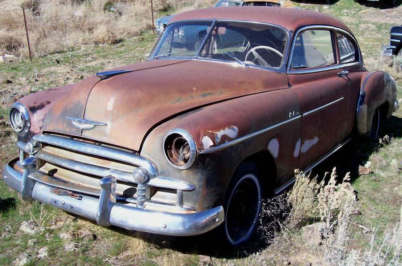 1950 Chevrolet Fleetline Deluxe Series 2 Door Fastback Sedan