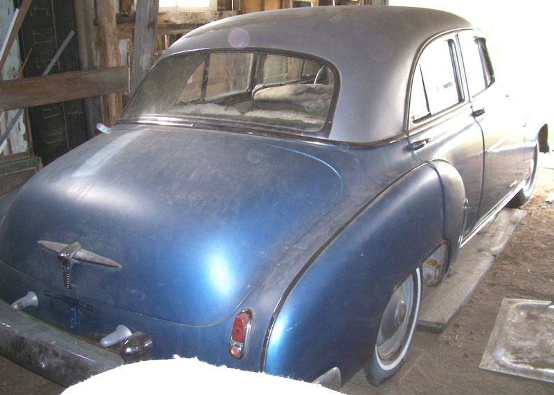 1950 Chevrolet Styleline Deluxe 4 Door Sedan For Sale
