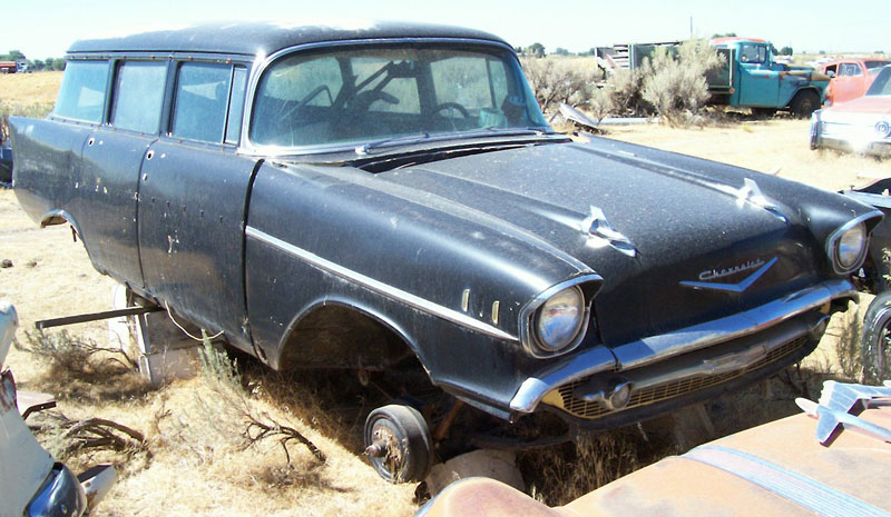 1957 chevrolet bel air 4 door station wagon for sale
