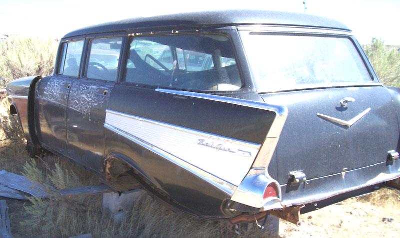 1957 chevrolet bel air 4 door station wagon for sale for 1957 chevy wagon 4 door