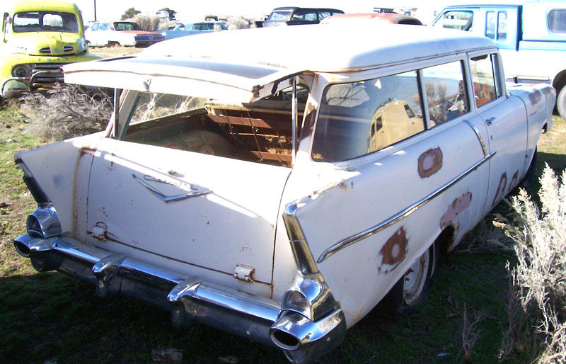 1957 Chevrolet One Fifty 150 2 Door Station Wagon For Sale
