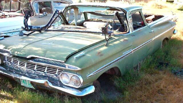1959 Chevrolet El Camino Car Pickup For Sale