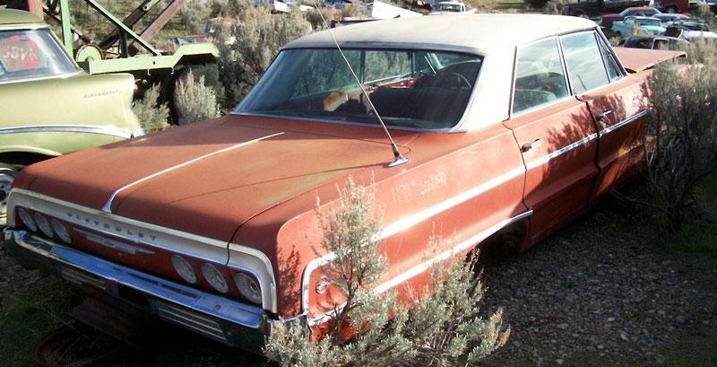 1964 chevrolet impala 4 door hardtop for sale. Black Bedroom Furniture Sets. Home Design Ideas