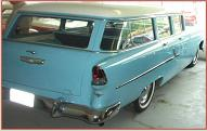1955 Chevrolet Two-Ten 210 4 door station wagon right rear view