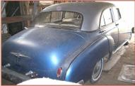 1950 Chevrolet Styleline Deluxe 4 door sedan right rear view