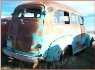 1953 Chevy Series 3100 1/2 Ton Suburban van truck right rear view