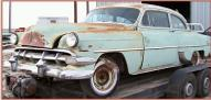1954 Chevrolet Two-Ten 210 2 door post sedan left front view