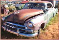 1952 Chevrolet Styleline Deluxe Be Air 2 door hardtop left front view
