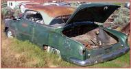 1952 Chevrolet Styleline Deluxe Be Air 2 door hardtop left rear view