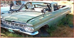 1959 Chevrolet El Camino car pickup left front view