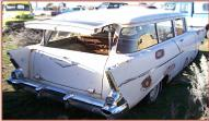 1957 Chevy One-Fifty 150 2 door station wagon right rear view