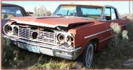 1964 Chevrolet Impala 4 door hardtop left front view