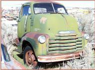 1950 Chevrolet Series 5700 COE cab over engine 2 ton truck right front view