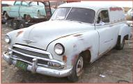 1951 Chevy  Model JJ Series 1500 sedan delivery left front view