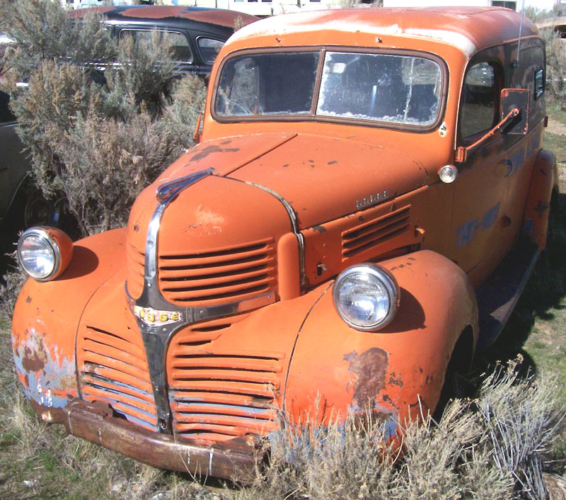 1946 Dodge Series WC 1/2 Ton Panel Truck For Sale