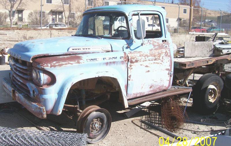 dodge    power wagon flatbed truck  sale
