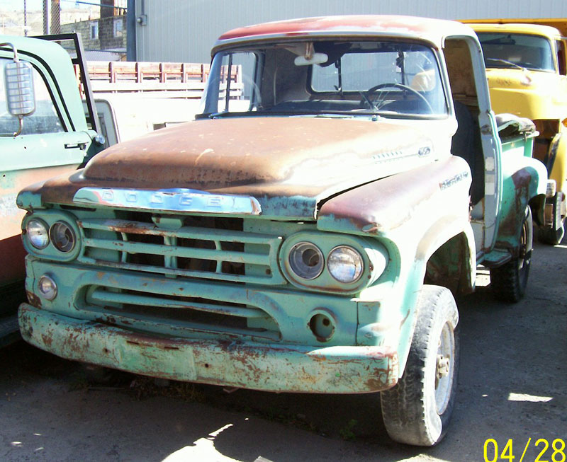 Home » 1959 Dodge W100 4x4 Power Wagon 12 Ton Pickup For Sale