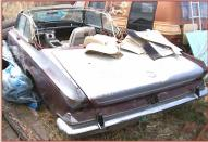 1964 Chrysler 300K Convertible Letter Car left rear view
