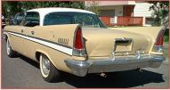 1957 Chrysler New Yorker 4 door hardtop left rear view for sale $20,000
